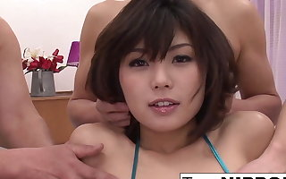 asian college student caught watching porn